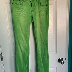 Jessica Simpson Jeans - Jessica Simpson Skinny ankle jeans green